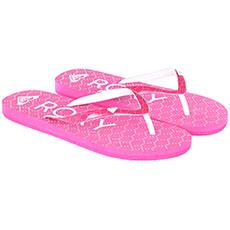 Вьетнамки детские Roxy Rg Pebbles Vi Pink