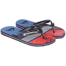 Вьетнамки детские Quiksilver Mololavadivisyt Black/Red/Blue
