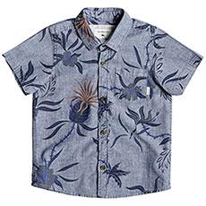 Рубашка детская Quiksilver Shakkamateby Blue Used Shakka Mat