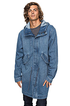 Куртка джинсовая Quiksilver Brickdrenimjkt Blue Used