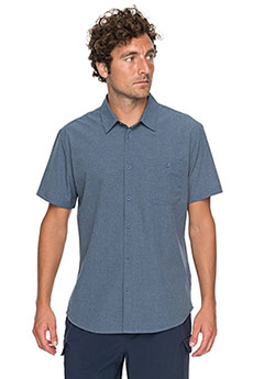 Рубашка Quiksilver Techshirt Dark Denim Heather