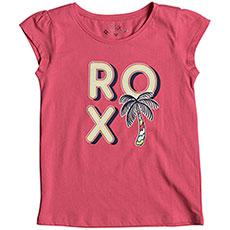 Футболка детская Roxy Moidmultipalmtr Rouge Red