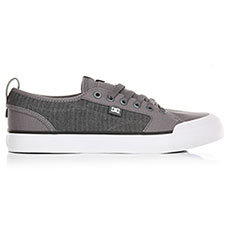 Кеды низкие DC Evan Smith Tx Grey/Black