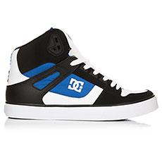 Кеды высокие DC Pure Ht Wc White/Blue/Black