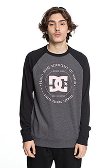 Свитшот DC Rebuilt Crew Black/Charcoal Heat