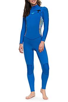 Гидрокостюм (Комбинезон) женский Roxy 43 Syn Cz Gbs Sea Blue Ii