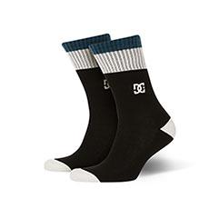 Носки средние DC Shoes To Me Two Black