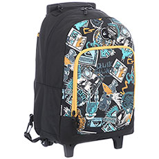 Сумка дорожная QUIKSILVER Wheelie Burstii Golden Yellow