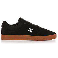 Кеды низкие DC Crisis Black/White/Gum
