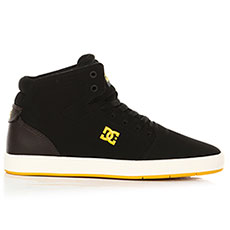 Кеды высокие DC Crisis High Black/Brown/Black