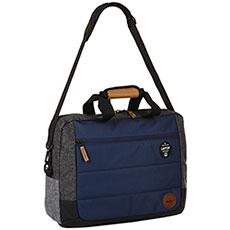 Сумка через плечо QUIKSILVER Carrier Ii Medieval Blue Heather