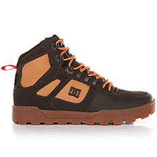Ботинки высокие DC Pure Ht Wr Boot Chocolate Brown