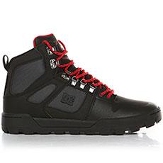 Ботинки высокие DC Pure Ht Wr Boot Black/Grey/Red
