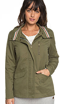 Куртка женская Roxy Lighteningstrik Burnt Olive