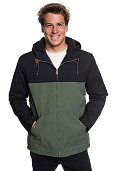 Куртка утепленная QUIKSILVER Wanna Black/Thyme