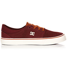 Кеды низкие DC Trase Sd Burgundy/Tan