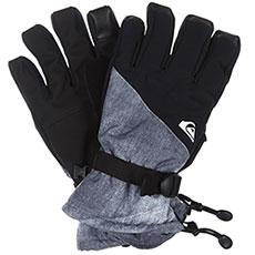 Перчатки сноубордические QUIKSILVER Mission Glove Grey simple Texture