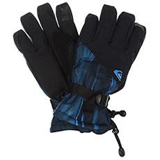Перчатки сноубордические QUIKSILVER Mission Glove Daphne Blue stellar
