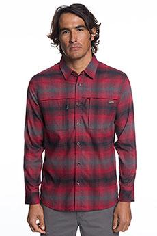 Рубашка в клетку QUIKSILVER Thermohyperflan Rio Red