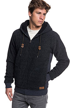 Толстовка утепленная QUIKSILVER Kellersherpa Dark Grey Heather