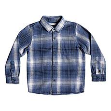 Рубашка в клетку детская QUIKSILVER Fatherboy Navy Blazer Fatherfl
