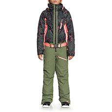 Комбинезон сноубордический детский Roxy Impression Su G True Black_swell Flo