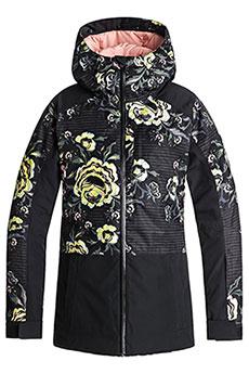 Куртка утепленная женская Roxy Tb Snowflake Jk True Black_torahs R
