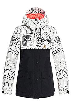 Куртка утепленная женская DC Cruiser Jkt Silver Birch Mud Clo
