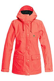 Куртка утепленная женская DC Cruiser Jkt Fiery Coral