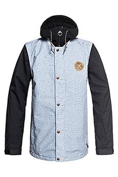 Куртка утепленная DC Dcla Light Blue Acid Wash