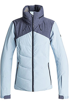 Куртка утепленная женская Roxy Flicker Powder Blue
