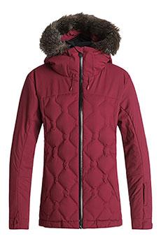 Куртка утепленная женская Roxy Breeze Beet Red