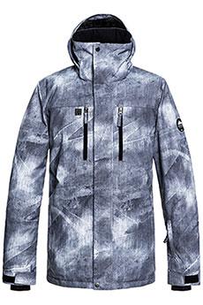 Куртка утепленная QUIKSILVER Mission Grey Simple Texture