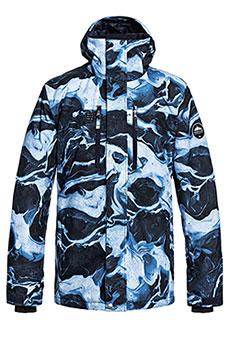 Куртка утепленная QUIKSILVER Mission Dress Blue Highline