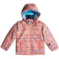Куртка утепленная детская Roxy Mini Jetty Jk Shell Pink indie Str