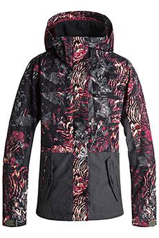 Куртка утепленная женская Roxy Rx Jetty Block Four Leaf Clover_zeb