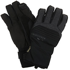 Перчатки сноубордические QUIKSILVER Hill Gore Glove Black