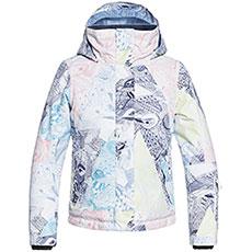 Куртка утепленная детская Roxy Jetty Girl Bright White Alska