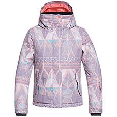 Куртка утепленная детская Roxy Jetty Girl Minimal Grey Mosaic
