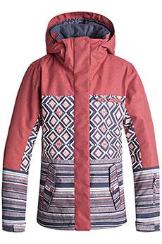 Куртка утепленная женская Roxy Rx Jetty Block Dusty Cedar_edit Son
