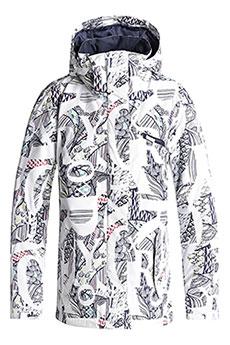 Куртка утепленная женская Roxy Jetty Bright White_freespa