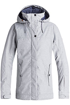 Куртка утепленная женская Roxy Billie Warm Heather Grey
