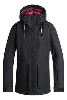 Куртка утепленная женская женская Roxy Andie True Black