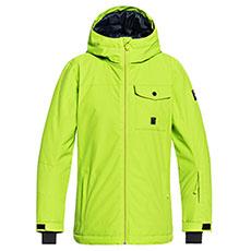Куртка утепленная детская QUIKSILVER Miss Sol Lime Green