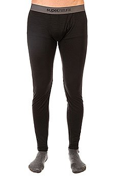 Термобелье (низ) Super Natural Base Tight 175 Black1