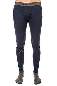 Термобелье (низ) Super Natural Base Tight 175 Navy2