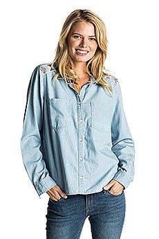 9023cf907802903 Рубашка женская Roxy Lightcloudy Light Blue2