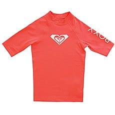 Гидрофутболка детская Roxy Wholeheartssgrl Neon Grapefruit3
