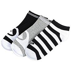 Комплект носков женский Roxy Ankle Socks Anthracite1