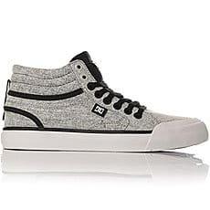 Кеды высокие женские DC Shoes Evan Txse Black/Charcoal1